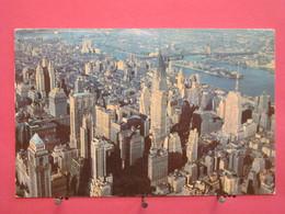 USA - New York - Aerial View Of Midtown Manhattan - Recto Verso - Manhattan