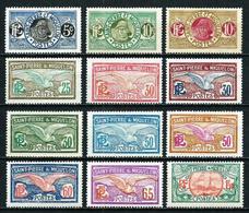St.Pedro Y Miquelón Nº 107/17A Nuevo*/(*) Cat.26€ - Unused Stamps