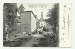 PIAZZA E FACCIATA DEL S.EREMO DI MONTESENARIO VIAGGIATA FP - Arezzo