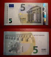 SPAGNA SPAIN 5 EURO 2013 DRAGHI SERIE VB 7027369399 V011H1 UNC FDS - 5 Euro