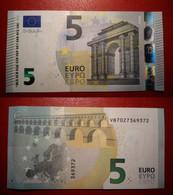 SPAGNA SPAIN 5 EURO 2013 DRAGHI SERIE VB 7027369372 V011H1 UNC FDS - 5 Euro