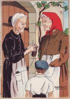 Nw640 BARRE & DAYEZ 1393-C En BEARN Vieilles Femmes En .. Illustrateur PETITDIDIER Depot 1946-2 N° 578 Cpagr - Illustrators & Photographers