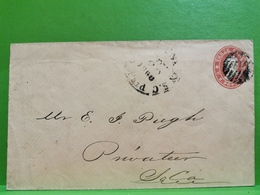 Lettre, Stamp 3 Centimes - Briefe U. Dokumente