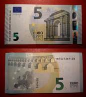 SPAGNA SPAIN 5 EURO 2013 DRAGHI SERIE VB 7027369408 V011H1 UNC FDS - 5 Euro