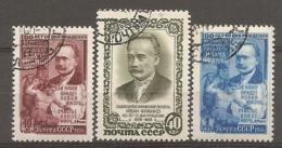 RUSSIE -  Yv N°  1846 à 1848a  (o)  écrivain Ivan Franko, Cote 2,5 Euro  TBE - 1923-1991 UdSSR