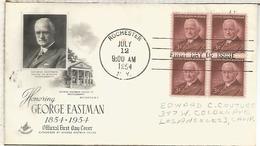 ESTADOS UNIDOS USA 1954 GEORGE EASTMAN KODAK FOTOGRAFIA PHOTOGRAPH - Fotografia