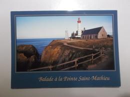 Le Site De La Pointe Saint Mathieu - Plougonvelin