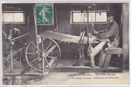 Moselle - Valmont - Une Vieille Industrie - Le Tissage à La Main - Fabrication Des Mouchoirs - Autres Communes