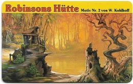 Germany - Robinsons Hütte - Motiv Nr. 2 - O 0055a - 07.93, 6DM, 3.000ex, Used - O-Series : Customers Sets