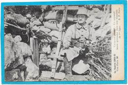 GUERRE 14/18 - VAUQUOIS - Appareil Lance Grenades Dans Une Tranchée De 1ère Ligne - Guerra 1914-18