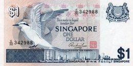 SINGAPORE= N/D    1  DOLLAR     P-9          UNC - Singapore