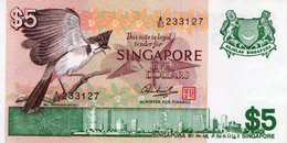 SINGAPORE= N/D    5  DOLLARS     P-10          UNC - Singapore