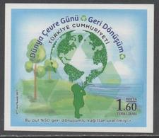 TURKEY, 2017, MNH, ENVIRONMENT, CHILDREN, TREES,  RECYCLING, S/SHEET - Protection De L'environnement & Climat