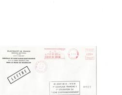 Enveloppe Souvenir Démarrage Centrale Nucléaire De St Alban-St Maurice (Isère)  30/08/1985 - Autres