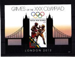 Olympics 2012 - Boxing - PAPUA NEW GUINEA - S/S MNH - Eté 2012: Londres