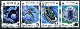 RUSSIE - Y&T 5191 à 5194 (espace)(série Complète) - Gebruikt