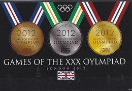 Olympics 2012 - Medals - TUVALU - S/S MNH - Eté 2012: Londres