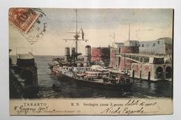 21 Taranto - R. N . Sardegna Passa Il Ponte - Taranto