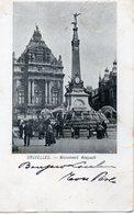 CP Belgique Bruxelles Monument Anspach - Monuments