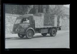 Negatif Photo Ancienne - Camion Ancien - Automobiles
