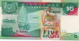 SINGAPORE= N/D    5  DOLLARS     P-19          UNC - Singapore