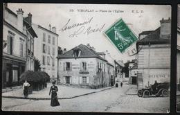 78, Viroflay, Place De L'eglise, Automobile Sur La Droite - Viroflay