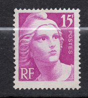 1945--47-- TP N° 727  -- Marianne De Gandon  15F  --NEUF  Sans Charnière---cote  11€..........à Saisir - France