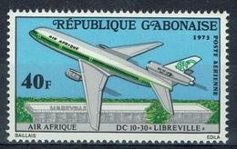 Gabon, Air Afrique, Airliner DC-10, 1973, MNH VF airmail - Gabon (1960-...)