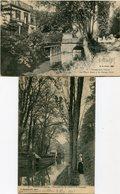 VERNEUIL Sur AVRE  -  LOT De 2 CPA - - Verneuil-sur-Avre