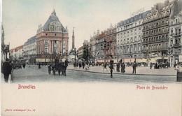 CP Belgique Bruxelles Place De Brouckère - Squares