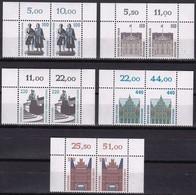 BRD, 1997, Sehenswürdigkeiten (XXI) Mi. Nr. 1934-1938** ,  5 Oberrand-Paare Aus Kleinbögen - Nuovi