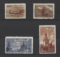 RUSSIE.  YT  N° 1117/1120  Neuf *  1947 - Unused Stamps