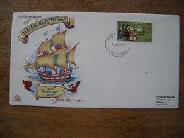 1970 FDC Mayflower's Voyage 350e Anniversaire Voyage De Mayflower En Amérique 1620 - FDC