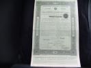 """Certificat""""Gouvernement Impérial De Russie Certificats D'état 41/2% """"Banque Foncière Russe Des Paysans 1912. - Russie"""