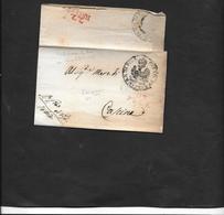 DISPERSION COLLECTION Marques D'ARRIVEE   Lettre P113 / PISE Sans Texte 22 JUILLET Verso - Storia Postale