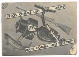 LIVRET PUB PUBLICITAIRE MOULINET DE PECHE MITCHELL, PRECIS COMME UNE ARME, RACE COMME UNE TRUITE - Pêche