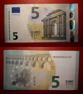 SPAGNA SPAIN 5 EURO 2013 DRAGHI SERIE VB 6905816137 V011H3 UNC FDS - 5 Euro