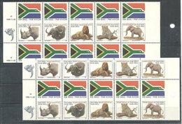 (990449) Südafrika 1996, Big Five  Booklet Pane  From Uncut Sheets, Mint N.h. - Südafrika (1961-...)