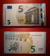 SPAGNA SPAIN 5 EURO 2013 DRAGHI SERIE VB 6905816083 V011H3 UNC FDS - 5 Euro