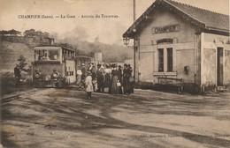 I193 - 38 - CHAMPIER - Isère - Arrivée Du Tramway - Sonstige Gemeinden