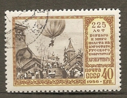 RUSSIE -  Yv N°  1875 (o)  Vol En Ballon Cote  1,8  Euro  BE - 1923-1991 UdSSR