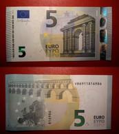 SPAGNA SPAIN 5 EURO 2013 DRAGHI SERIE VB 6911816986 V011I3 UNC FDS - 5 Euro