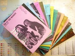 L'Avant-Scène Théâtre Lot De 17 Numéros Consécutifs Du N°451 (15 Juin 1970) Au N°468 (15 Mars 1971) - Libri, Riviste, Fumetti