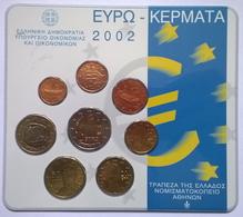 COFFRET BU - GRECE - 2002 - 1cts à 2€ (8 Pièces) - Grèce