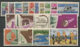 Polynesie Annees Completes (1966) N 36 A 45 Et PA N 16 A 21 (Luxe) - Polynésie Française