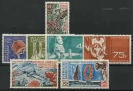 Polynesie Annees Completes (1965) N 35 Et PA 10 A 15 (Luxe) - Polynésie Française