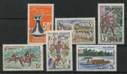 Polynesie Annees Completes (1967) N 46 A 51 (Luxe) - Polynésie Française