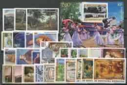 Polynesie Annees Completes (1996) N 498 A 523 Et BF 21 (Luxe) - Komplette Jahrgänge