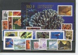 Polynesie Annees Completes (2010) N 898 A 934 Et BF 36 (Luxe) - Polynésie Française