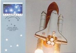 Australia Maximum Cards On Prepaid Post Cards - Astronomy